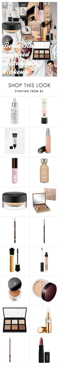 """""""Bella Hadid Inspired Beautifying Makeup"""" by oroartye-1 on Polyvore featuring beauty, Paula's Choice, MAC Cosmetics, L'Oréal Paris, Becca, Hourglass Cosmetics, Urban Decay, Rimmel, Sigma and Christian Louboutin"""