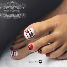 Hand Painted Animal Nails Designs ❤️ Toe nail designs for summer and toe nail designs for winter simple toe nail designs and cute – all gathered here! ❤️ See more: naildesignsjourna. Simple Toe Nails, Pretty Toe Nails, Cute Toe Nails, French Pedicure, Pedicure Nail Art, Toe Nail Art, Pedicure Designs, Toe Nail Designs, Pedicure Ideas