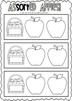 apple monster activity {year 1}