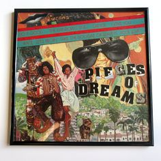 Shirley Bassey Record Cover Collage Pieces of Dreams by 4StoriesUp