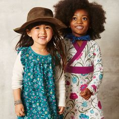 La Pampa Double Decker Dress. Love the colors and style, but don't care for the white sleeves that will stain easily, not very practical for active little girls.