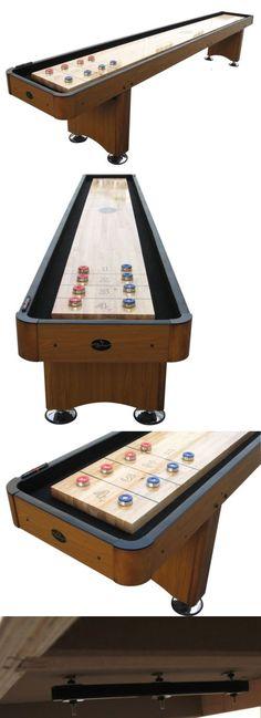 Shuffleboard 79777: Playcraft Woodbridge Honey Oak 12 Shuffleboard Table -> BUY IT NOW ONLY: $1095 on eBay!