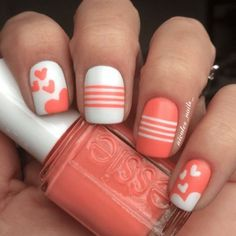 Top 100 lovely Ideas to Have Valentine's Day – Nails Art Designs 2018