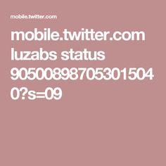mobile.twitter.com luzabs status 905008987053015040?s=09
