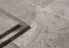 Beautiful detail on our Anzer Grey Polished Marble | Floors of Stone
