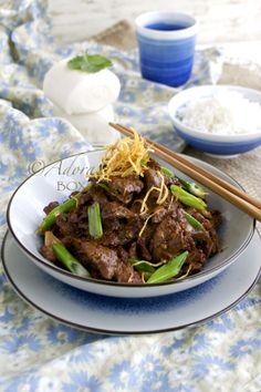 Mongolian Beef ~