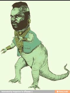 Mr. T-Rex...