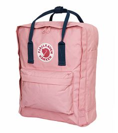 Pink and Royal Blue Kanken Classic
