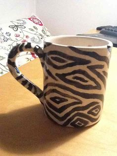 """""""This is the mug I glued back together after my friend smashed it"""""""