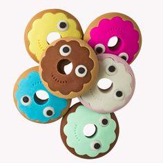 YUMMY Donut Erasers via Kidrobot