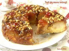 Tort-de-mere-intregi-3-1 Bagel, Caramel, French Toast, Food And Drink, Bread, Breakfast, Sweet, Desserts, Home