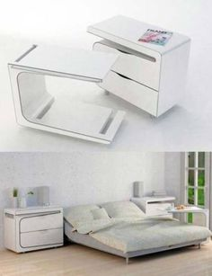 Other than the fact that its too modern, I like the fact you can pull this apart to use as a desk.