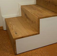 Treppengeländer ca. 2 cm auf Gehrung
