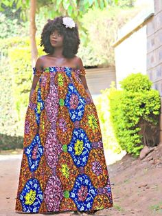 Ankara brown, blue and yellow maxi dress with gathered arms and chest strap and two side pockets Source by bernadinsebgo African Fashion Ankara, African Print Dresses, African Print Fashion, African Dress, Ankara Maxi Dress, Yellow Maxi Dress, Ankara Long Gown Styles, Trendy Ankara Styles, African Attire