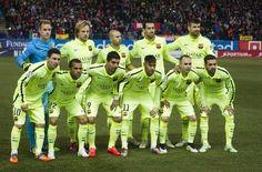 Atlético de Madrid-Barça. El Barça no falla con el once de gala