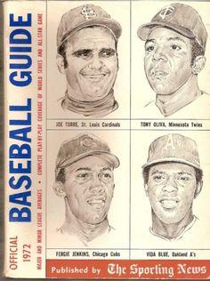 OFFICIAL BASEBALL GUIDE 1972 THE SPORTING NEWS by Paul MacFarlane http://www.amazon.com/dp/B000FP7U2Q/ref=cm_sw_r_pi_dp_eywIwb0WXR6FS