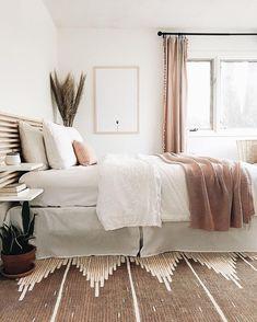 Home Decor Scandinavian .Home Decor Scandinavian Home Bedroom, Modern Bedroom, Bedroom Decor, Bedroom Ideas, Minimal Bedroom, Teen Bedroom, West Elm Bedroom, Bedroom Furniture, West Elm Bedding