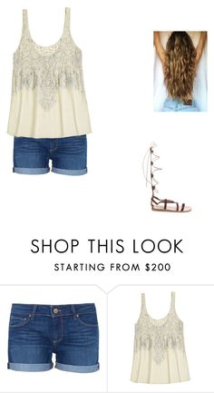 """Untitled #107"" by catherinetemb ❤ liked on Polyvore featuring Paige Denim, Calypso St. Barth and Ancient Greek Sandals"