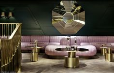 Surreal dining: Dandelyan at the Mondrian (London)- Design Research Studio - Best Overall Bar and Best UK Bar
