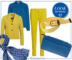 Colours by Brigitte von Boch #bevonboch #yellow #blue