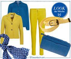 Colours by Brigitte von Boch #bevonboch #yellow #blue