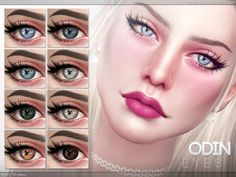 Odin Eyes for The Sims 4 Los Sims 4 Mods, Sims 4 Game Mods, Maxis, Sims 4 Hair Male, The Sims 4 Skin, Sims 4 Cc Eyes, Sims 4 Tsr, Sims 4 Characters, Sims 4 Cc Makeup