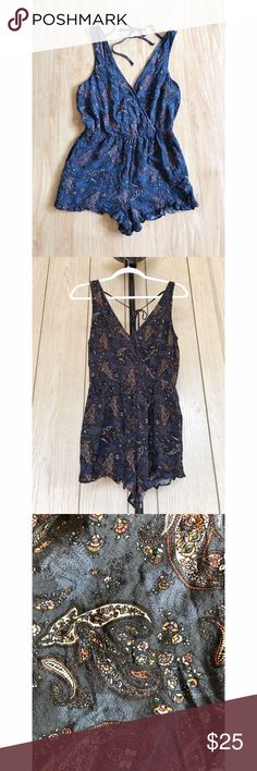 Cute Patterned Romper Size: Small-Medium Other