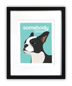 oh my god, this would be perfect for our house. we have a gassy boston terrier...