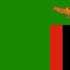 Zambia flag Stickers