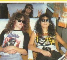 Jason, Kirk and Lars