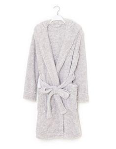Robe de chambre polaire capuche lapin - 39,99 €