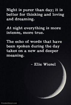 Night... Moon-magic.