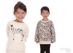 Sweatshirt Reversible Zebra