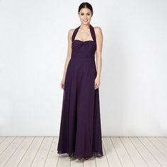 Plum maxi dress debenhams