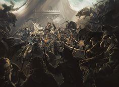 Battle of the Five Armies by Adam Schumpert