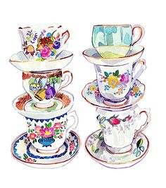 Vintage Teacup Collection | Flickr - Photo Sharing!