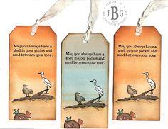 Texana Designs sample by DTM Janet Bradshaw using our Texana Designs Beach stamps (artwork by DTM Karen Lambert).