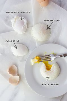 4 Ways to Perfectly Poach an Egg Egg poaching made easy! Check out this stepbystep tutorial showing 4 ways to perfectly poach an egg you're sure to find a method that is right for you! is part of Poached eggs - Easy Poached Eggs, Perfect Poached Eggs, Poached Egg Recipes, Breakfast Dishes, Breakfast Recipes, Mexican Breakfast, Breakfast Sandwiches, Breakfast Pizza, Pancake Recipes