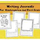 """This FREE sample is from the larger set """"Kindergarten and First Grade Writing Journals"""" that contains 70 journal pages! 64 pages have writing prom. Reading Response Journals, Writing Journals, Writing Prompts, Kindergarten Freebies, Kindergarten Literacy, First Grade Writing, First Grade Math, Paper Writer, Writing Paper"""