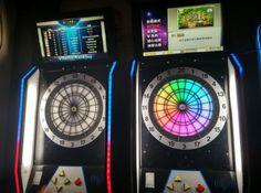 electronic dart machine with LED dartboard