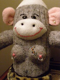 Not your grandmother's sock monkey