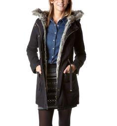 Coat with fur - looks soooo confortable