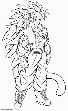 Goku Super Saiyan 5 Coloring Pages one of the most popular coloring page in Goku category. Explore more coloring pages like Goku Super Saiyan 5 Coloring Pages from the Coloring. Super Coloring Pages, Baby Coloring Pages, Free Coloring Sheets, Cartoon Coloring Pages, Coloring Pages To Print, Printable Coloring Pages, Coloring Books, Super Saiyan Goku, Goku Blue