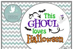 This Ghoul Loves Halloween SVG DXF EPS AI JPG PNG By Lyrical Letters Design