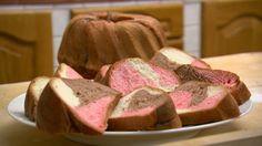 Színes kuglóf   Gasztroangyal Bread Recipes, Cake Recipes, Dessert Recipes, Cooking Recipes, Hungarian Desserts, Hungarian Recipes, Creative Cakes, Creative Food, Savarin