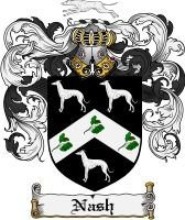 Pay for Nash Family Crest Nash Coat of Arms Digital Download