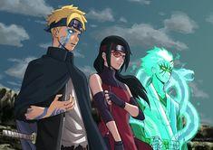 Already Seeing Boruto's Future? Here are 7 facts of Momoshiki Otsutsuki Naruto Shippuden Sasuke, Naruto Kakashi, Anime Naruto, Naruto Fan Art, Naruto Comic, Sarada E Boruto, Naruto Sasuke Sakura, Naruto Cute, Manga Anime