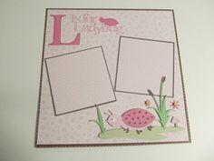 Cricut - Ladybug (Walk in My Garden)