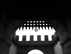 Medieval graphismus #bw #bnw #monochrome #blackandwhite #geometry #graphism #architecture #medieval #castle #chateau #black #dark #gothic #leicaq #leica