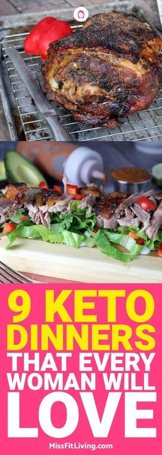 These great ketogenic diet dinners are not only delicious but they look great on a plate as well.